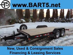 2019 Mirage 18 FT Equipment / Car Hauler w. Tandem 7K Axles.