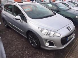 PEUGEOT 308 1.6 e-HDi 112 Active 5dr (silver) 2012