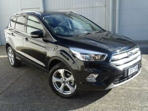 2018 Ford Escape ZG 2018.75MY Trend 2WD Black 6 Speed Sports Automatic Wagon Bundoora Banyule Area Preview