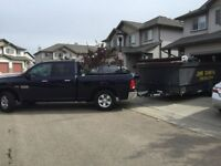 Junk removal professional, reliable and reasonable rates!