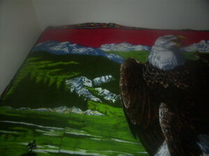 eagle rug for wall