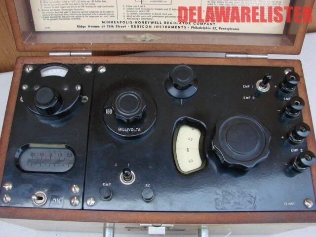 Vintage Tube Antique Radio Lab Potentiometer Rubicon Calibrator