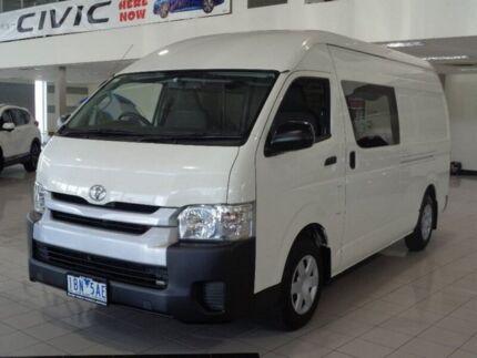 2014 Toyota Hiace KDH221R MY14 Super LWB White 4 Speed Automatic Van