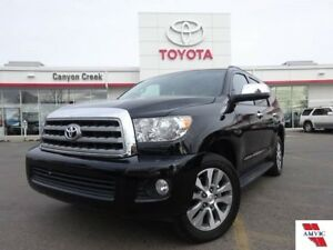 2017 Toyota Sequoia LIMITED 8 PASS/ CLEAN CARFAX/ Only 11735KM/