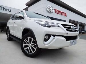 2016 Toyota Fortuner GUN156R Crusade White 6 Speed Automatic Wagon Greenway Tuggeranong Preview