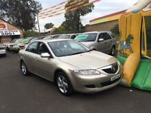 2002 Mazda 6 GG Classic Gold 5 Speed Manual Sedan Campbelltown Campbelltown Area Preview