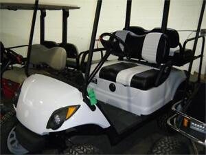 2013 Yamaha Drive OEM New Painted Body, Custom Seats, Black Roof