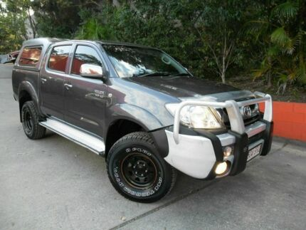 2009 Toyota Hilux GGN25R MY10 SR5 Grey 5 Speed Automatic Utility Ashmore Gold Coast City Preview
