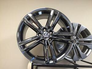 "OEM Volkswagen 18"" ""Birstol"" wheels in PVD chrome"