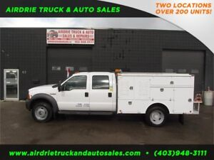 2005 Ford Super Duty F-450 DRW 4x4 SERVICE BODY