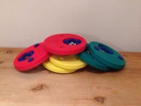 6 delphin swim discs (3 pairs)