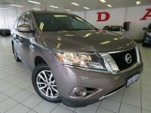 2015 Nissan Pathfinder R52 MY15 ST (4x2) Silver Continuous Variable Wagon Osborne Park Stirling Area Preview