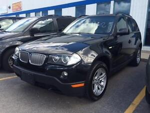 2007 BMW X3 3.0 AWD, Panoramic Roof, Leather, LOW KMS!!