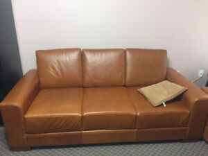 **Mint Condition Leather Sofa and Loveseat - $1500 (Surrey)