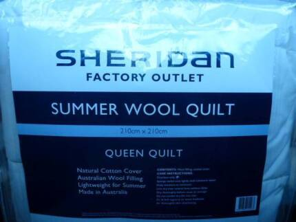 Sheridan Wool Quilt (Queen) NEW Merewether Newcastle Area Preview