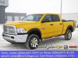 2012 Ram 2500 Diesel, Cloth Buckets, SWB, Local