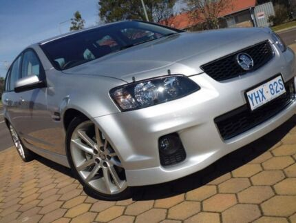 2012 Holden Commodore VE II MY12 SS Silver 6 Speed Manual Sportswagon Greenway Tuggeranong Preview
