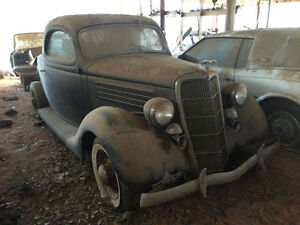 1933 - 1938 Coupe Project Car