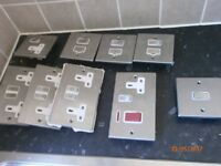 Metal sockets and switches by Hamilton