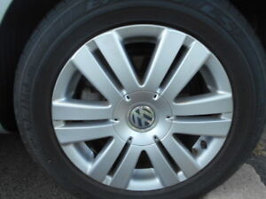 VW 16 inch alloy wheels, Goodyear LS 2 tires