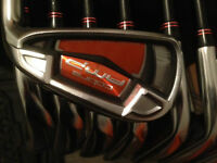 Cobra Amp 5-PW,SW,LW Graphite R-Flex Iron Set