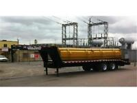 EQUIPMENT FLOAT 25' DECK OVER 24K GVWR MADE IN CANADA