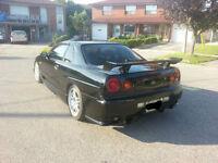 2000 Nissan Skyline GT-Turbo GTR R34