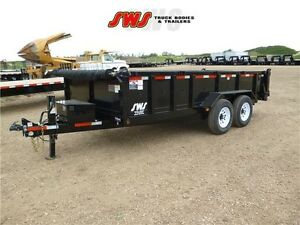 NEW 7X16' HYD Dump Trailer