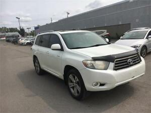 TOYOTA HIGHLANDER 2009 7 PLACES*CUIR,TOIT*MAGS