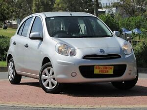 2014 Nissan Micra K13 MY13 ST Silver 4 Speed Automatic Hatchback Blair Athol Port Adelaide Area Preview