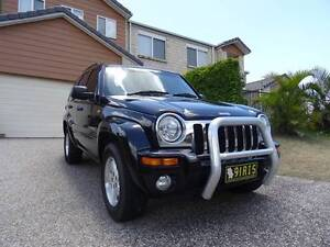 2004 Jeep Cherokee Limited (4x4) Wagon, black, automatic Highland Park Gold Coast City Preview
