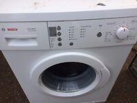 £105.00 bosch excel washing machine+7kg+1400 spin+3 months warranty for £105.00