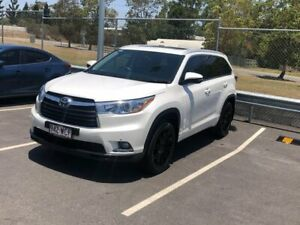 2015 Toyota Kluger GSU50R Grande 2WD White 6 Speed Sports Automatic Wagon Hillcrest Logan Area Preview