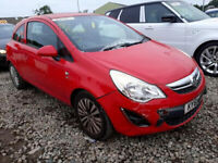 VAUXHALL CORSA D 1.2 2011 BREAKING FOR SPARES 5 DOOR MODEL PLEASE CALL BEFORE YOU COME