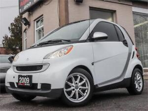 2009 Smart Fortwo Pure *ONLY 67k KM* CERTIFIED|WARRANTY!