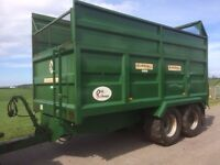 Used Marshall QM11 Silage Trailer 2009