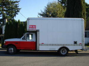 1996 &1991 ford f-350 trucks with van boxes sell or trade for?