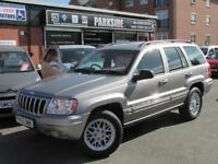 2002 (52) JEEP GRAND CHEROKEE 4.7 V8 LIMITED 5DR AUTOMATIC
