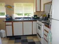 1 bedroom furnished available Sept. 1