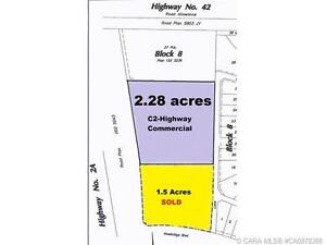 C2-HIGHWAY COMMERCIAL LAND SITUATED IN HAWKRIDGE ESTATES!
