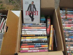 DVD'S 50  $40 CURRENT A MOVIES