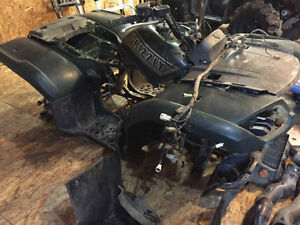 Parting Out - Yamaha Grizzly & Rhino