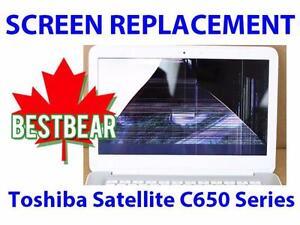 Screen Replacment for Toshiba Satellite C650 Series Laptop