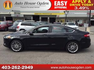 2013 FORD FUSION SE LEATHER FULLY LOADED ROOF 90 DAYS NO PAYMNTS