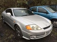 2003 Hyundai Coupe, starts and drives, being sold as spares or repair due to no MOT, car located in