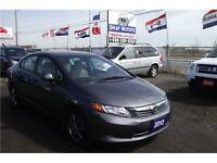 2012 Honda Civic Sdn LX** ONE OWNER** 1 YEAR WARRANTY INCLUDED*