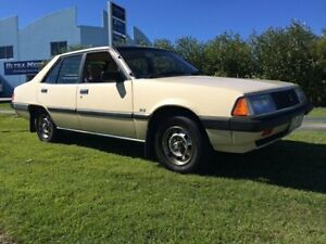 1982 Mitsubishi Sigma  Beige 4 Speed Automatic Sedan Warana Maroochydore Area Preview
