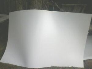feuille plastique vinyle cabanon remorque trailer revêtement