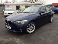 BMW 1 SERIES 1.6 116D EFFICIENTDYNAMICS 5d 114 BHP (blue) 2013