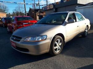 2000 Honda Accord Sdn Special Edition,Certified